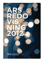 Årsredovisning 2012 - OFR