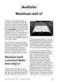 Informatiegids van de Hersteld Hervormde Gemeente te Garderen - Page 7