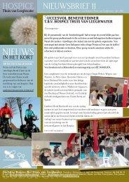 HOSPICE-NIEUWS 11 – juni 2011 - Het Wapen van Munster