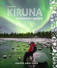 Kiruna Lappland Vinter - Swedeninfo