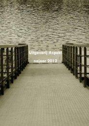 PDF-file - Uitgeverij Aspekt