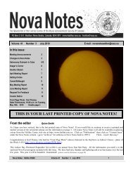 Nova notes July 10 final - The Royal Astronomical Society of ...