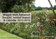 MWS Tenant's annual report - Magna West Somerset