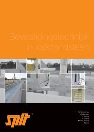 Technisch document kalkzandsteen - Spit • Paslode