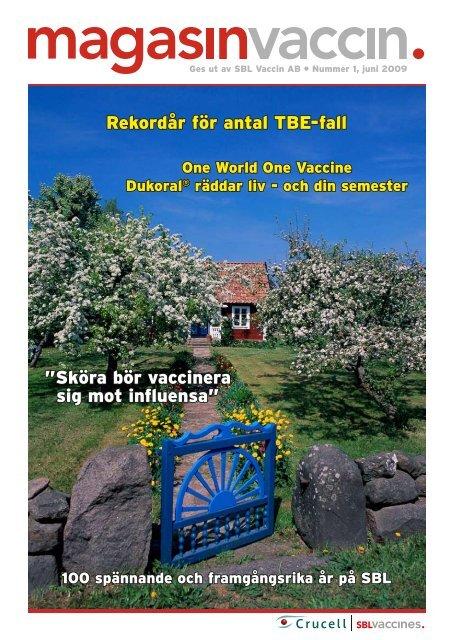 """Rekordår för antal TBE-fall """"Sköra bör vaccinera sig mot influensa"""""""