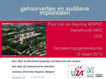 implantaten - Wetenschappelijke Vereniging voor ...