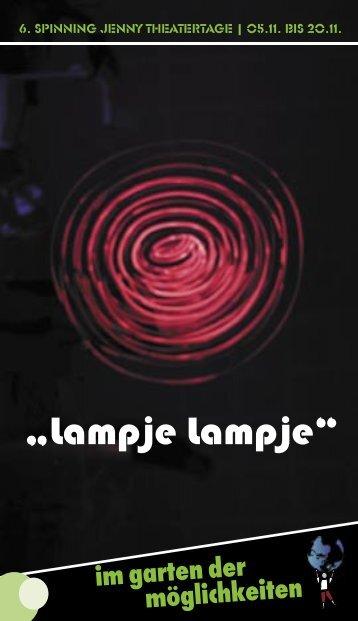 """Lampje Lampje"" - Armes Theater e.V."