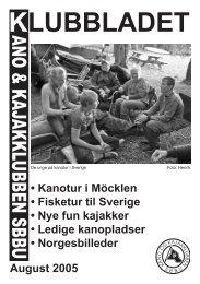 Klubblad august 2005.indd - SBBU