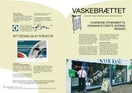 Vaskebrættet - Januar 2005 - Electrolux Laundry Systems