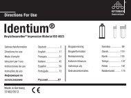 Identium® - Kettenbach GmbH & Co. KG