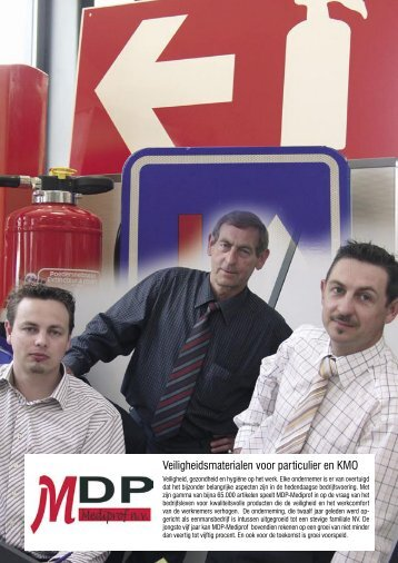 Veiligheidsmaterialen voor particulier en KMO - Mediprof