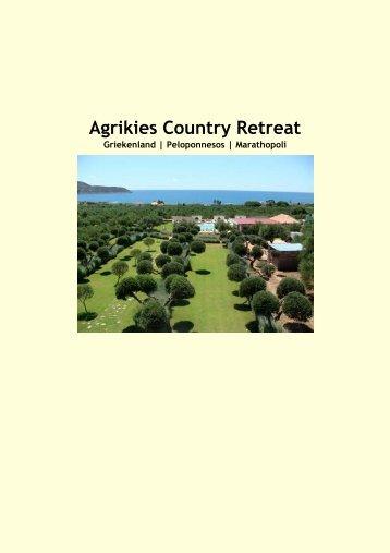 Agrikies Country Retreat - Eliza was here