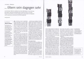 Gehirn und Geist 04/2011: Eltern sein dagegen sehr...