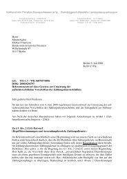 Verband der Privaten Bausparkassen e.v. Bundesgeschäftsstelle ...