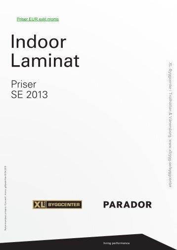 Parador laminat EUR exkl.moms.pdf - XL Bygg