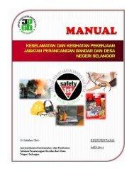 Manual Keselamatan dan Kesihatan Pekerjaan ... - JPBD Selangor