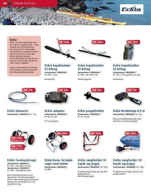 Se hele kataloget 2011 35 kajakker og alt - Kajaksalg