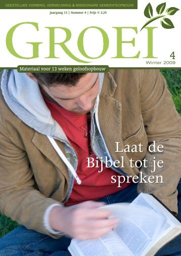 2009-4 Laat de Bijbel tot je spreken - Groei
