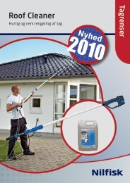 Roof Cleaner brochure - Nilfisk-ALTO
