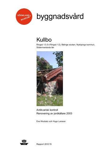 Kullbo - Sörmlands museum