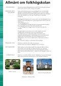 Välkommen till - Fellingsbro folkhögskola - Page 4