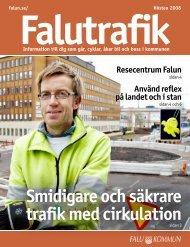Smidigare och säkrare trafik med cirkulation - Falu Kommun