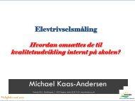 3 forskellige spørgeskemaer (HHX, HTX, EUD) - Danske ...