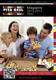 Download hier onze menukaart thuislevering - Pita Geel