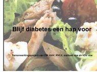 Blijf diabetes een hap voor - Femma