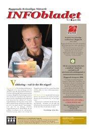INFObladet nr 1, 2006 - Byggnads