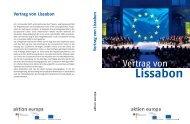 Vertrag von Lissabon - EU Diktatur