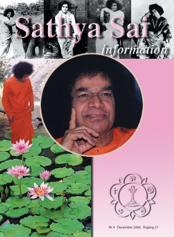 December 2006 - Sri Sathya Sai Baba Seva Organisation