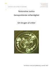 cirkler rapport EH nov 2010 final 2 - Center for Konfliktløsning