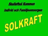 Solkraft - hälsans trädgård - Skellefteå kommun
