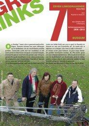 programma van Bussum - GroenLinks Naarden