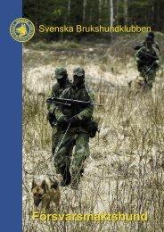 Försvarsmakts- hund (pdf)