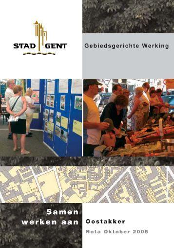 startnota Oostakker - Kenniscentrum Vlaamse Steden