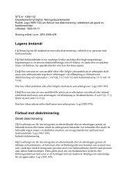 Läs mer om lagen om förbud mot diskriminering i arbetslivet på ...