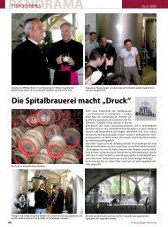 """Die Spitalbrauerei macht """"Druck"""" - Regensburger Stadtzeitung"""
