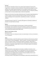 Informatie over Stichting Vrienden van Isala