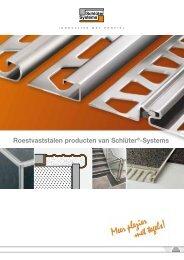 Roestvaststalen producten van Schlüter®-Systems - Schlüter-Systems