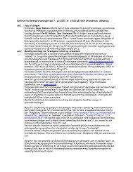 Referat fra generalforsamlingen 2007 - Holmsborgvejens ...