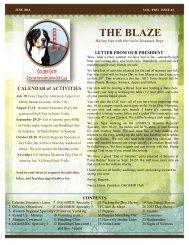 THE BLAZE - Golden Gate Greater Swiss Mountain Dog Club