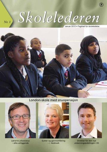 London-skole med snuoperasjon