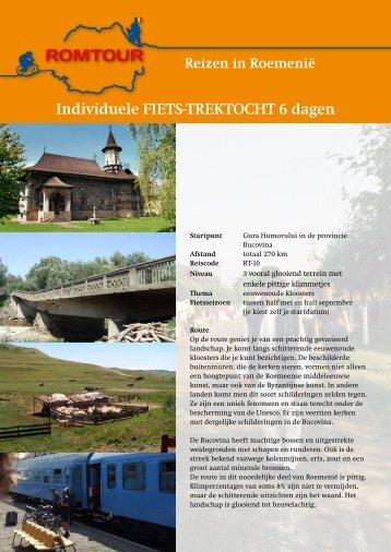 Individuele FIETS-TREKTOCHT 6 dagen - Romtour