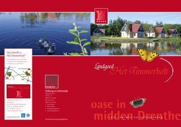 Hoe bereikt u Het Timmerholt? Verkoop en informatie - Landgoed ...