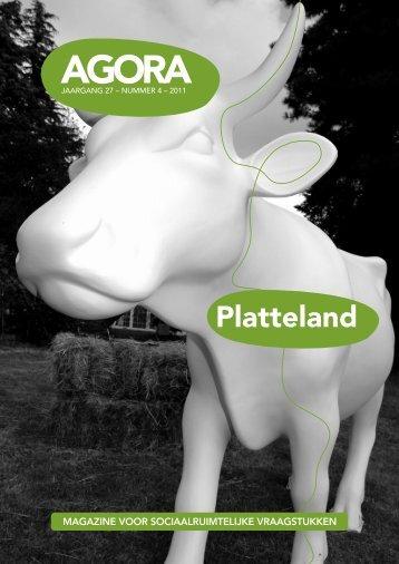 AGORA 2011-4 Platteland - AGORA Magazine