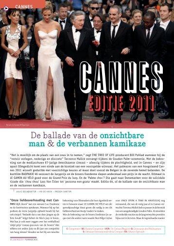 Cannes Editie 2011 - Filmmagie