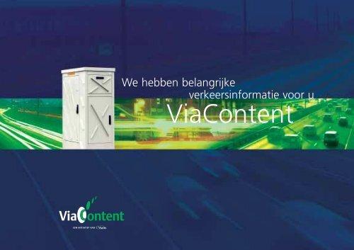 Brochure ViaContent