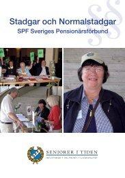 Stadgar och Normalstadgar - Sveriges Pensionärsförbund